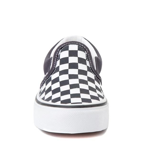 alternate view Vans Slip On Checkerboard Skate Shoe - Little Kid - India InkALT4