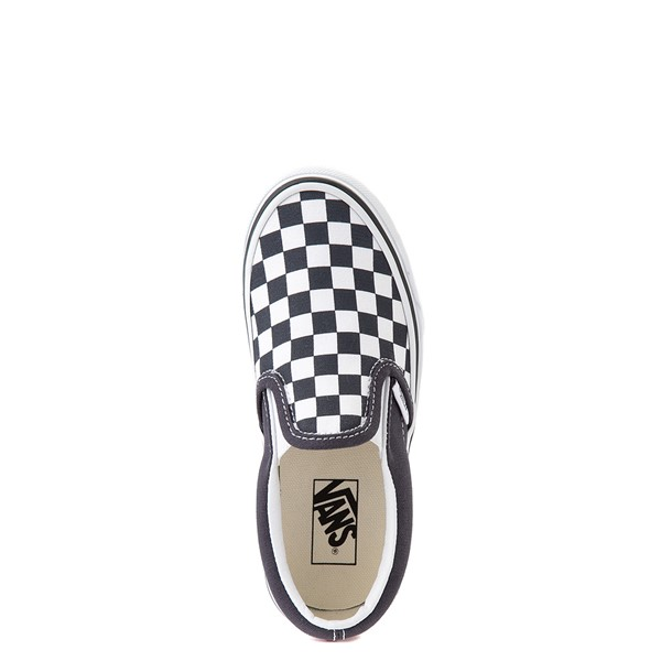 alternate view Vans Slip On Checkerboard Skate Shoe - Little Kid - India InkALT4B