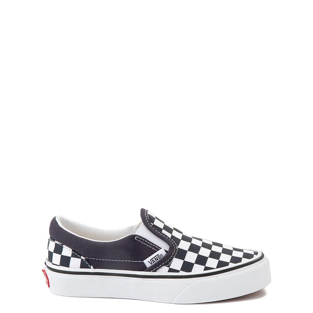 Vans Slip On Checkerboard Skate Shoe - Little Kid - India Ink