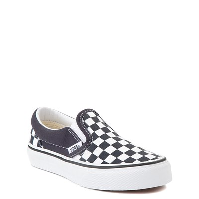 Alternate view of Vans Slip On Checkerboard Skate Shoe - Big Kid - India Ink