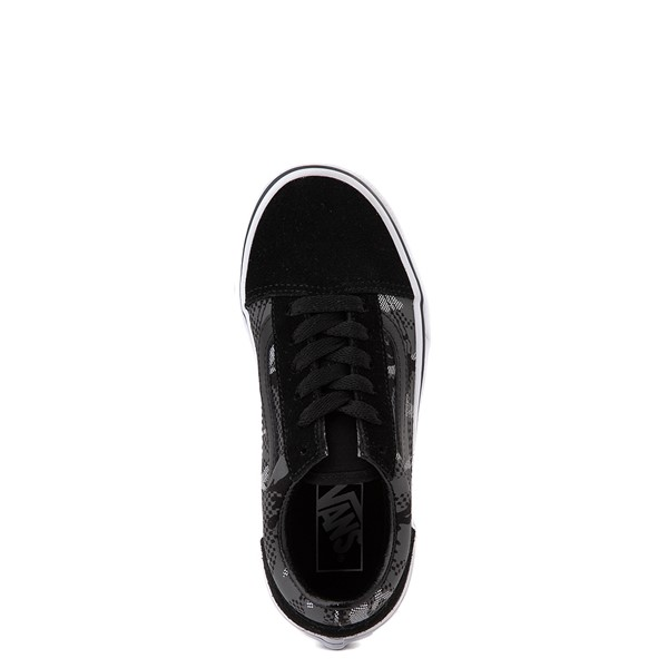 alternate view Vans Old Skool Skate Shoe - Little Kid - Black / Gray CamoALT2