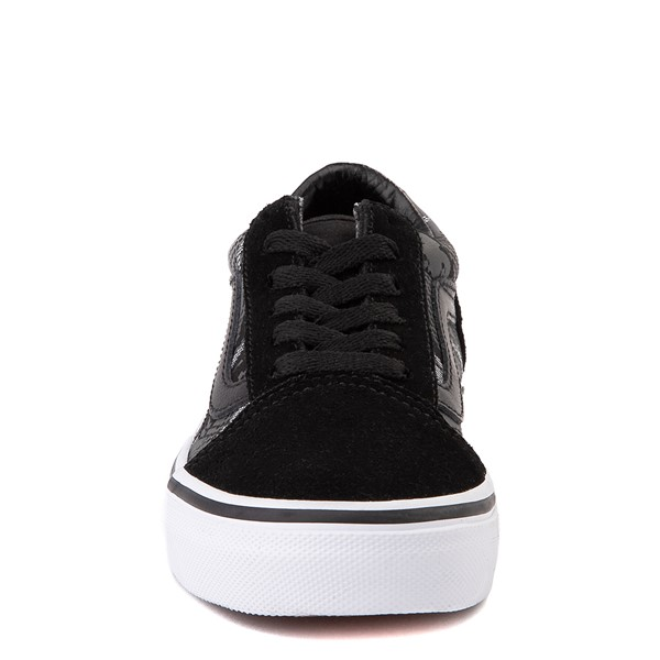 alternate view Vans Old Skool Skate Shoe - Little Kid - Black / Gray CamoALT4