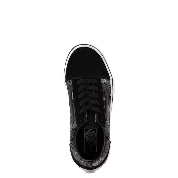 alternate view Vans Old Skool Skate Shoe - Little Kid - Black / Gray CamoALT4B