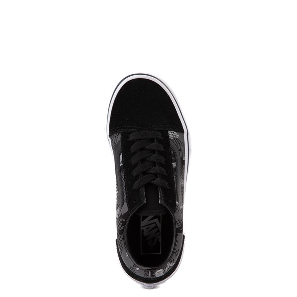 alternate view Vans Old Skool Skate Shoe - Big Kid - Black / Gray CamoALT2
