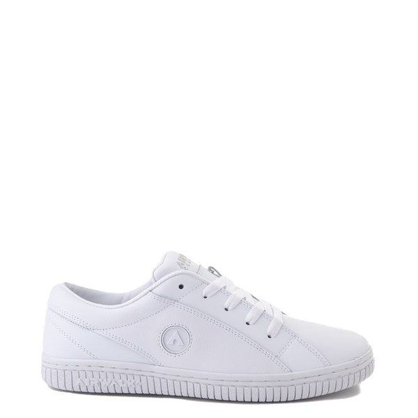 Main view of Mens Airwalk The One Skate Shoe - White Monochrome