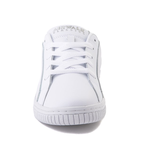alternate view Mens Airwalk The One Skate Shoe - White MonochromeALT4