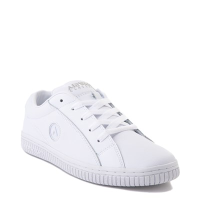 Alternate view of Mens Airwalk The One Skate Shoe - White Monochrome
