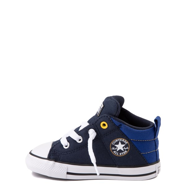 alternate view Converse Chuck Taylor All Star Axel Mid Sneaker - Baby / Toddler - Obsidian / BlueALT1