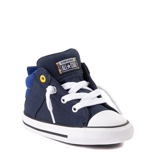 alternate view Converse Chuck Taylor All Star Axel Mid Sneaker - Baby / Toddler - Obsidian / BlueALT1B