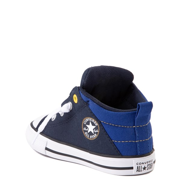 alternate view Converse Chuck Taylor All Star Axel Mid Sneaker - Baby / Toddler - Obsidian / BlueALT2
