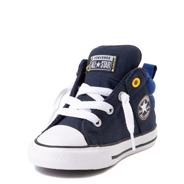 alternate view Converse Chuck Taylor All Star Axel Mid Sneaker - Baby / Toddler - Obsidian / BlueALT3