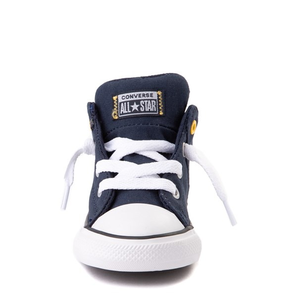 alternate view Converse Chuck Taylor All Star Axel Mid Sneaker - Baby / Toddler - Obsidian / BlueALT4