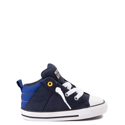 Main view of Converse Chuck Taylor All Star Axel Mid Sneaker - Baby / Toddler - Obsidian / Blue