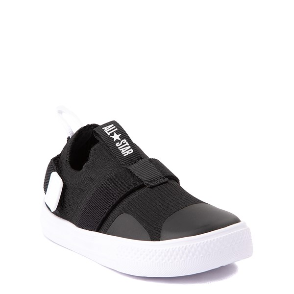 alternate view Converse Chuck Taylor All Star Superplay Knit Slip On Sneaker - Baby / Toddler - BlackALT1