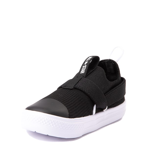alternate view Converse Chuck Taylor All Star Superplay Knit Slip On Sneaker - Baby / Toddler - BlackALT3