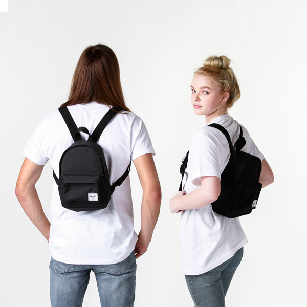 alternate view Herschel Supply Co. Classic Mini Backpack - BlackALT1BADULT