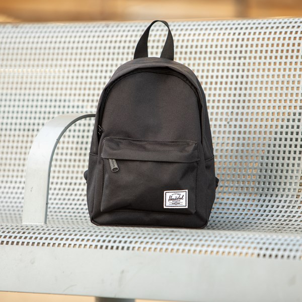 alternate view Herschel Supply Co. Classic Mini Backpack - BlackALT1BB