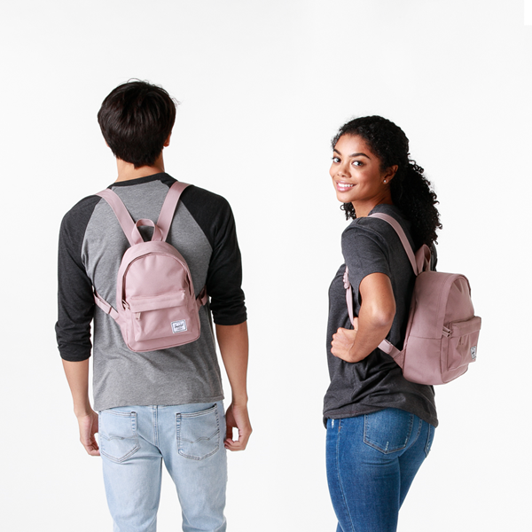 alternate view Herschel Supply Co. Classic Mini Backpack - Ash RoseALT1BADULT