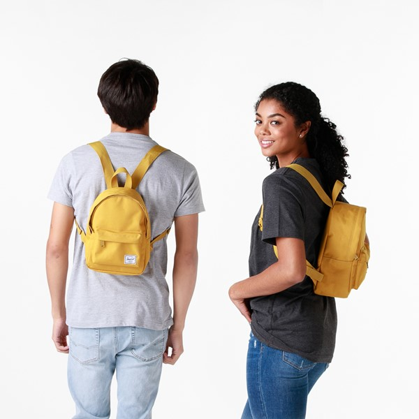 alternate view Herschel Supply Co. Classic Mini Backpack - Arrowwood YellowALT1BADULT