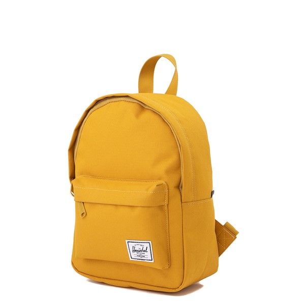 alternate view Herschel Supply Co. Classic Mini Backpack - Arrowwood YellowALT4