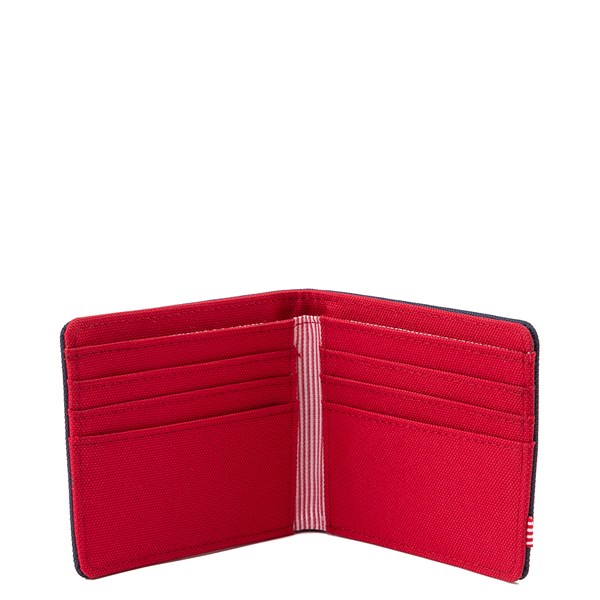 alternate view Herschel Supply Co. Roy Wallet - Navy / RedALT1