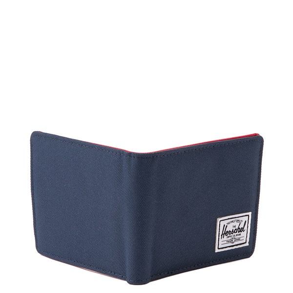 alternate view Herschel Supply Co. Roy Wallet - Navy / RedALT2