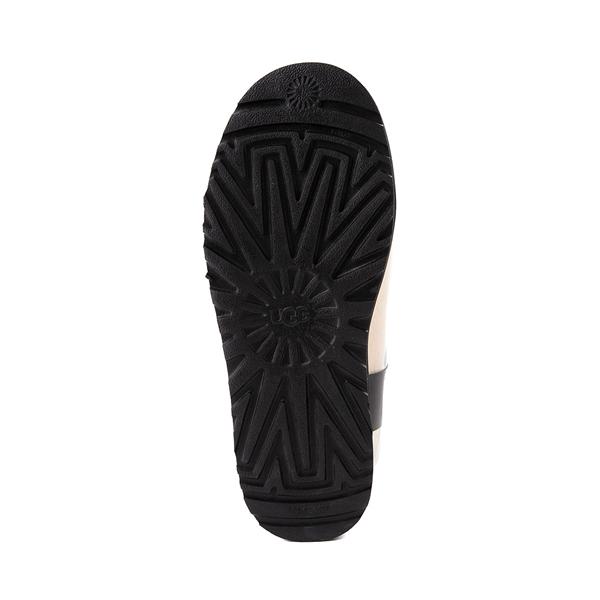 alternate view Womens UGG® Classic Clear Mini II Boot - Natural / BlackALT3