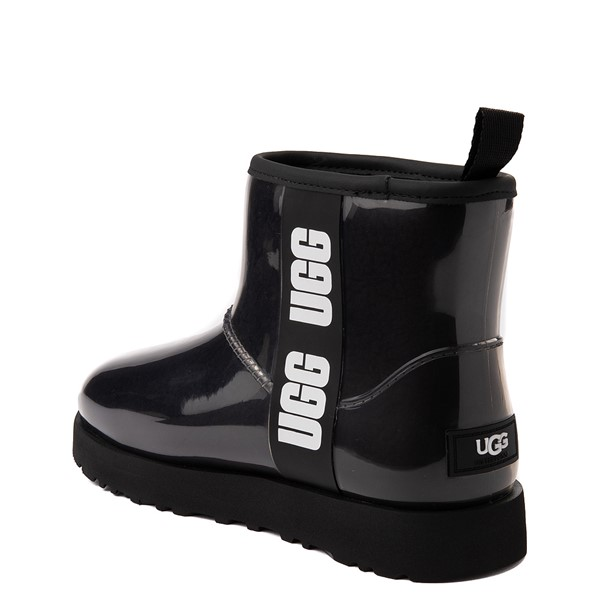 alternate view Womens UGG® Classic Clear Mini II Boot - BlackALT1