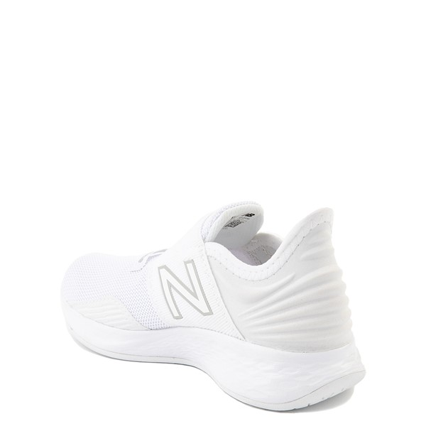 alternate view New Balance Fresh Foam Roav Slip On Athletic Shoe - Little Kid - WhiteALT1