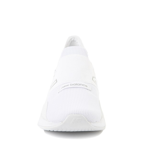 alternate view New Balance Fresh Foam Roav Slip On Athletic Shoe - Little Kid - WhiteALT4