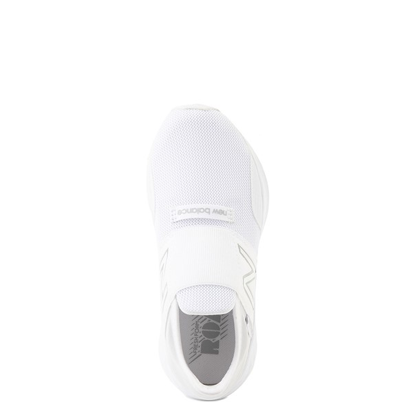 alternate view New Balance Fresh Foam Roav Slip On Athletic Shoe - Little Kid - WhiteALT4B