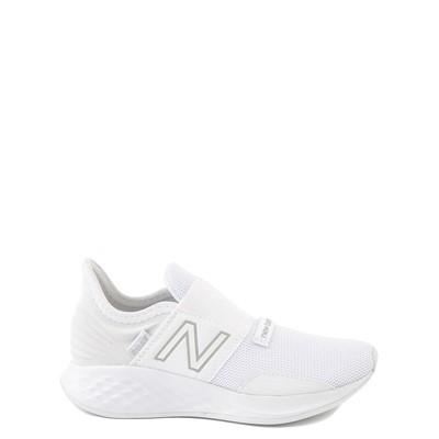 Main view of New Balance Fresh Foam Roav Slip On Athletic Shoe - Little Kid - White
