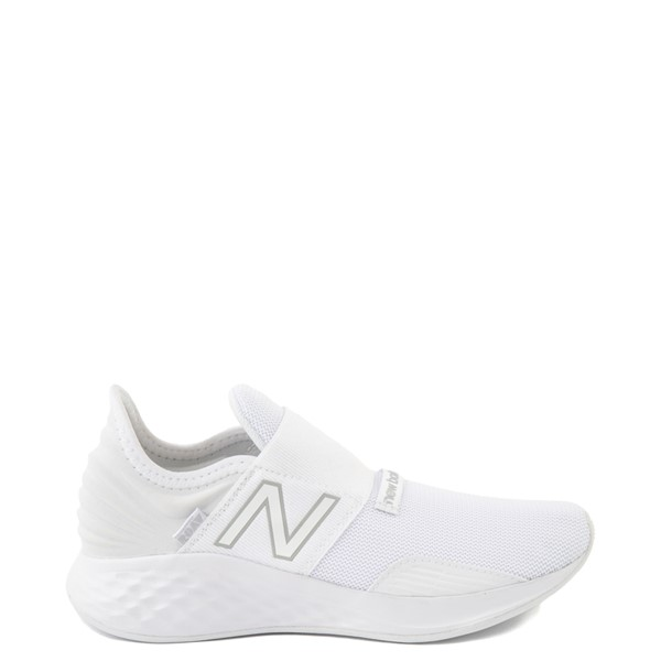 Main view of New Balance Fresh Foam Roav Slip On Athletic Shoe - Big Kid - White