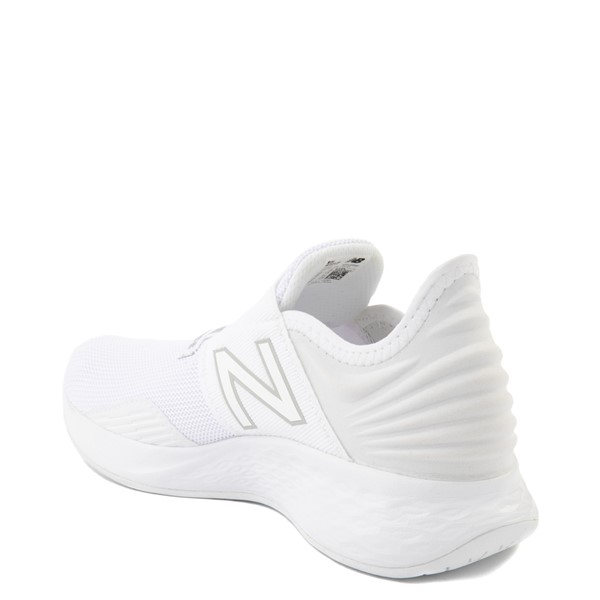alternate view New Balance Fresh Foam Roav Slip On Athletic Shoe - Big Kid - WhiteALT1