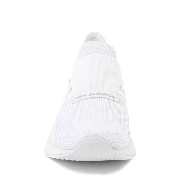 alternate view New Balance Fresh Foam Roav Slip On Athletic Shoe - Big Kid - WhiteALT4