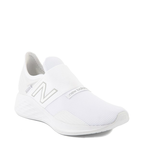 alternate view New Balance Fresh Foam Roav Slip On Athletic Shoe - Big Kid - WhiteALT5