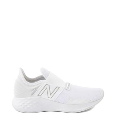 Main view of New Balance Fresh Foam Roav Slip On Athletic Shoe - Big Kid - White