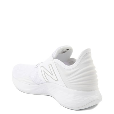 Alternate view of New Balance Fresh Foam Roav Slip On Athletic Shoe - Big Kid - White