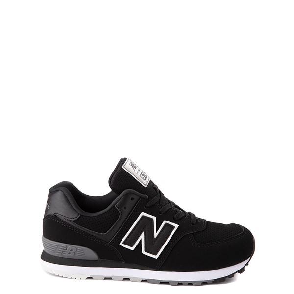 Main view of New Balance 574 Athletic Shoe - Little Kid - Black