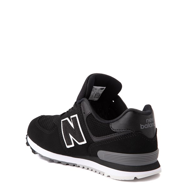 alternate view New Balance 574 Athletic Shoe - Little Kid - BlackALT1
