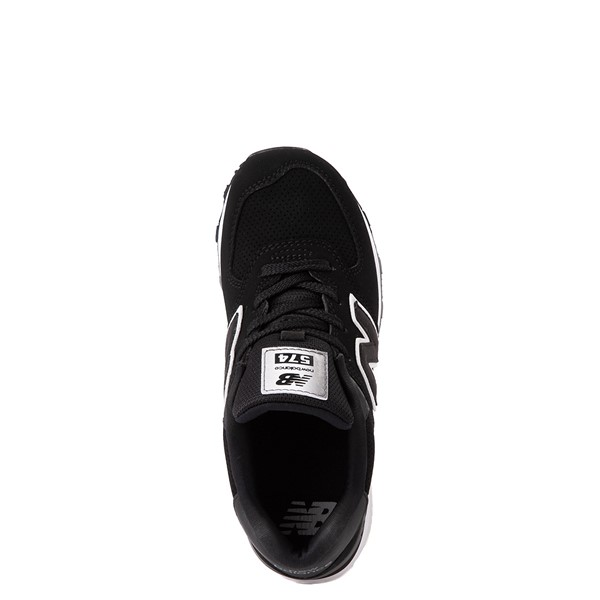 alternate view New Balance 574 Athletic Shoe - Little Kid - BlackALT2