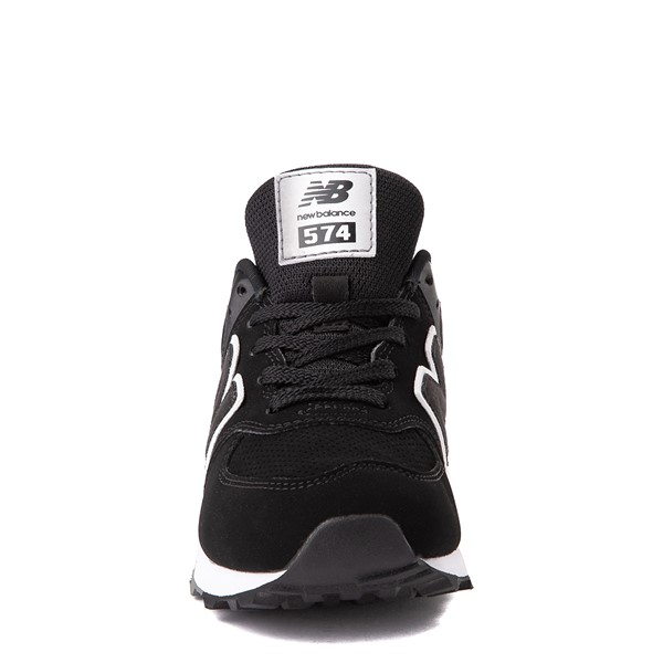 alternate view New Balance 574 Athletic Shoe - Little Kid - BlackALT4