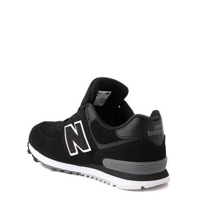 Alternate view of New Balance 574 Athletic Shoe - Little Kid - Black