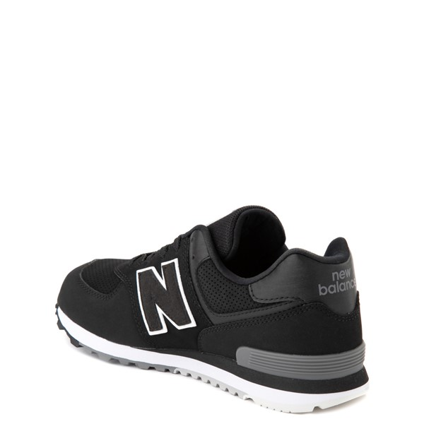 alternate view New Balance 574 Athletic Shoe - Big Kid - BlackALT1