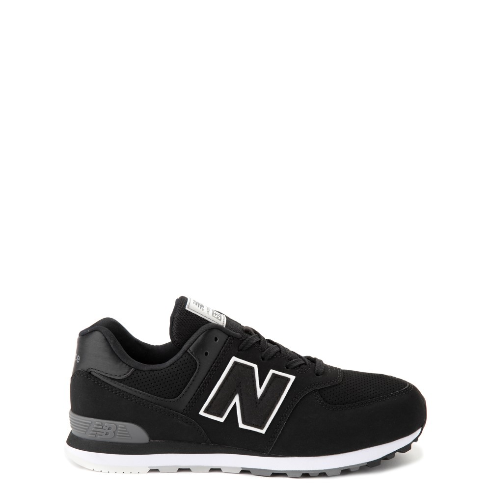 New Balance 574 Athletic Shoe - Big Kid - Black