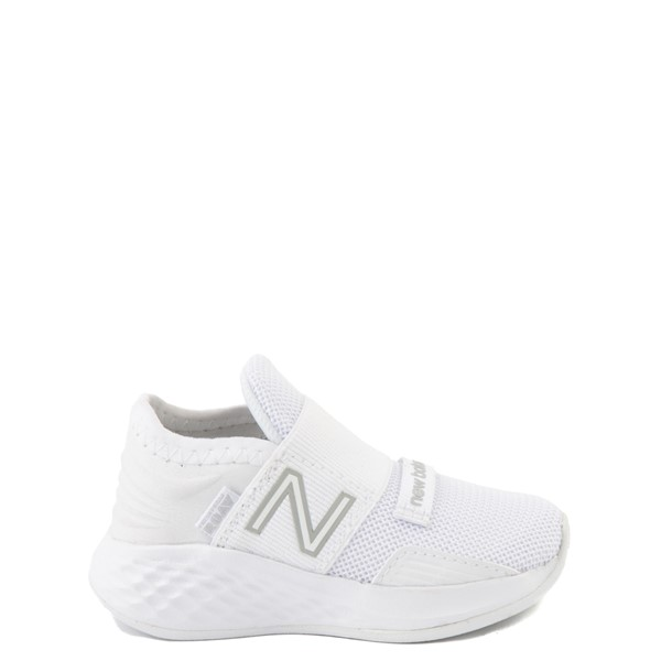 Main view of New Balance Fresh Foam Roav Slip On Athletic Shoe - Baby / Toddler - White