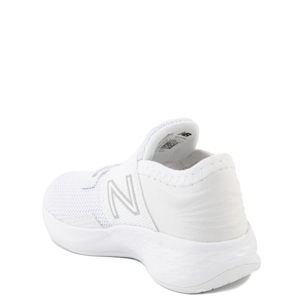 alternate view New Balance Fresh Foam Roav Slip On Athletic Shoe - Baby / Toddler - WhiteALT1