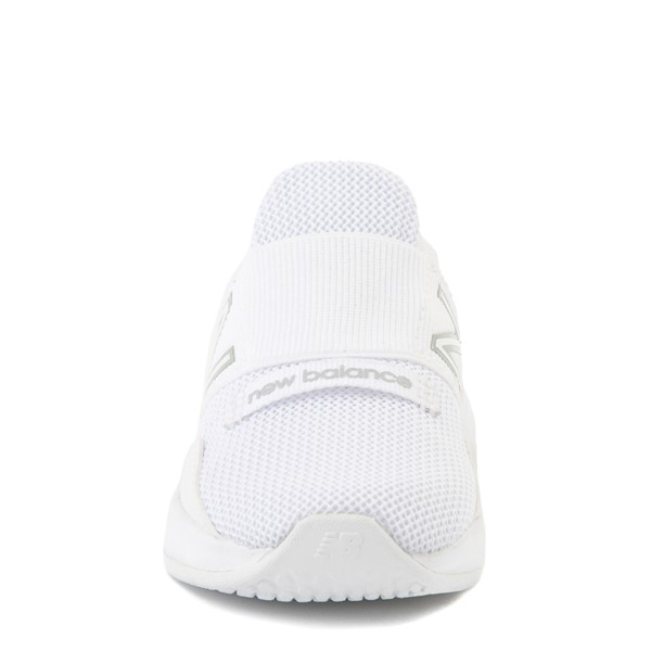alternate view New Balance Fresh Foam Roav Slip On Athletic Shoe - Baby / Toddler - WhiteALT4