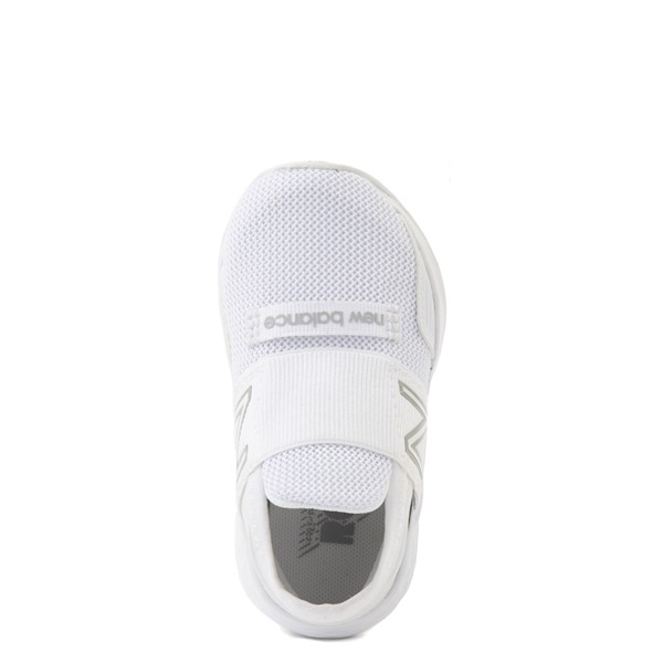 alternate view New Balance Fresh Foam Roav Slip On Athletic Shoe - Baby / Toddler - WhiteALT4B