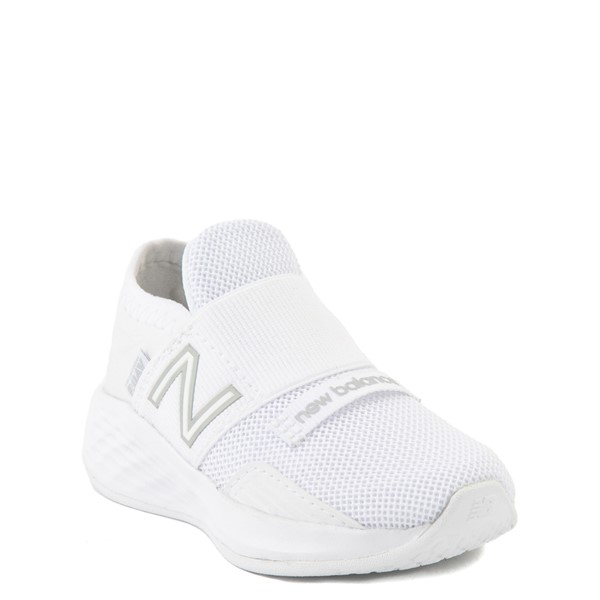 alternate view New Balance Fresh Foam Roav Slip On Athletic Shoe - Baby / Toddler - WhiteALT5
